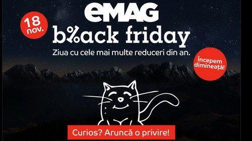 Cel mai mare Black Friday din Romania – eMAG, un marketplace d