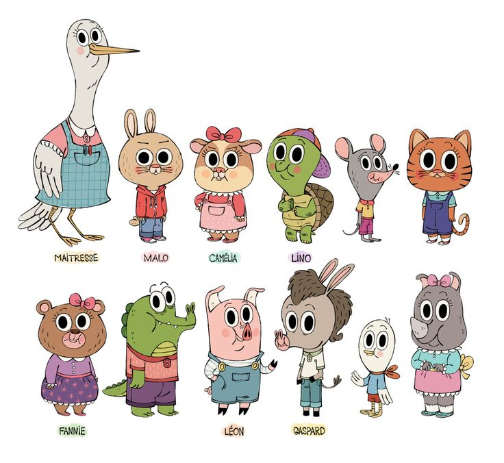 Cast for the sequel of Oh Crotte, encore des carottes! Work in progress…