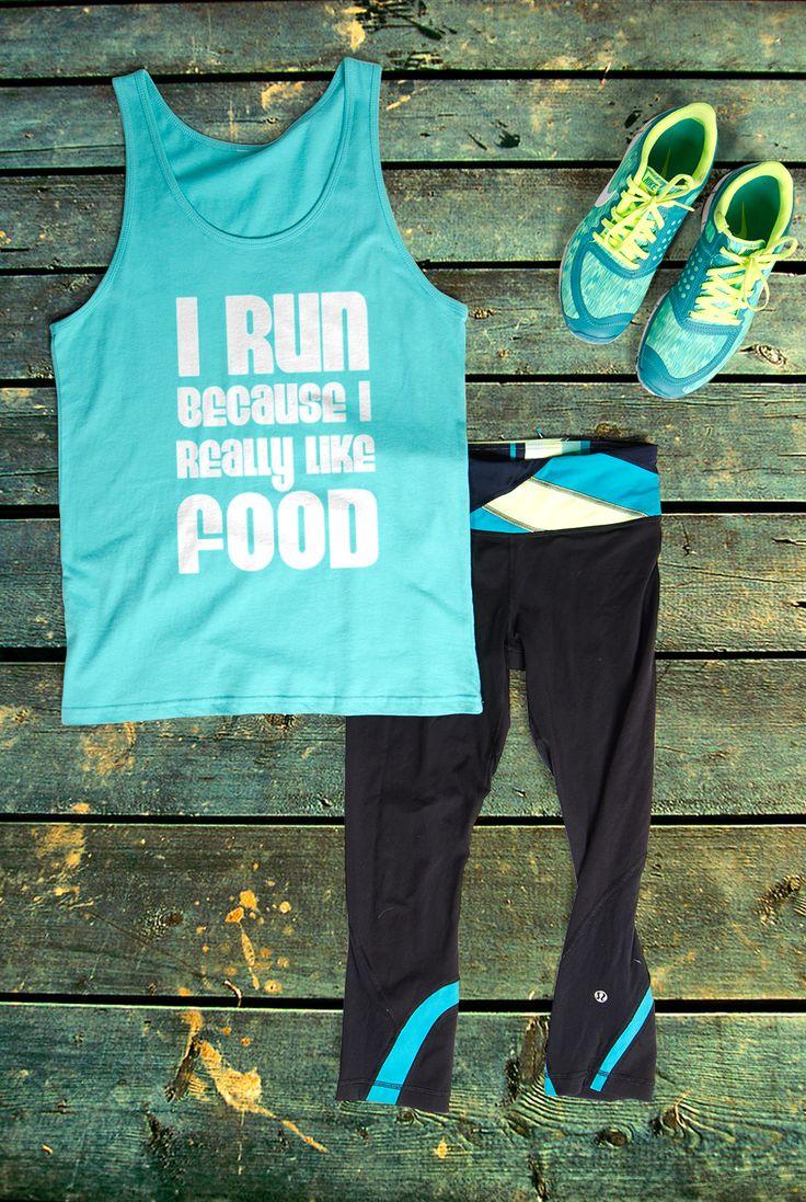 Custom workout shirts at UberPrints.com.  #runningshirts #workout #gym