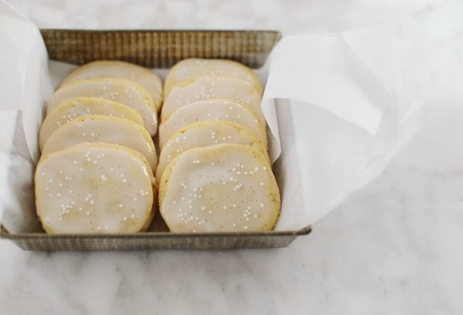 Ice Box Sugar Cookies