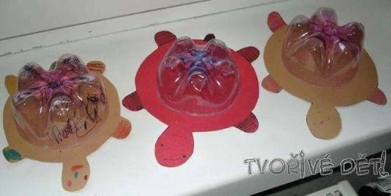 Zvětšit fotografii - Tvoření z PET lahve - ŽELVIČKA