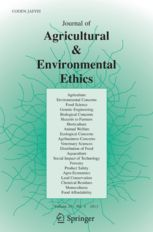 The Journal of Agricultural and Environmental Ethics presents articles on ethical issues confronting agriculture, food production and environmental concerns. The goal of this journal is to create a forum for discussion of moral ...