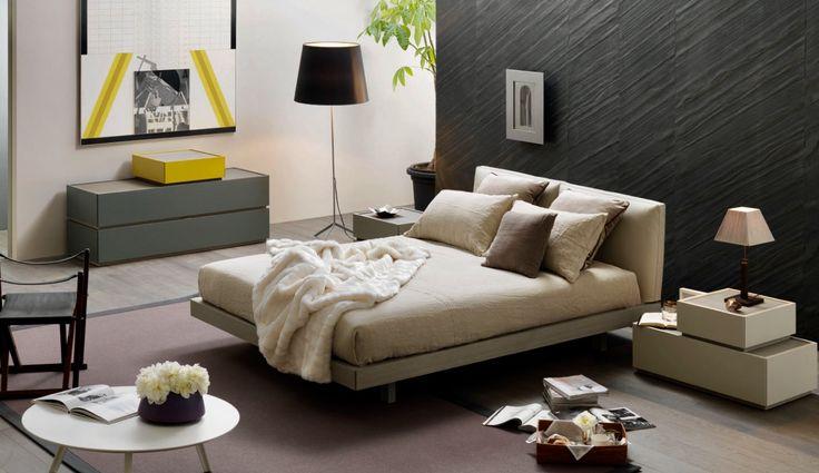 Il relax è l'inizio della creatività. (Lailah Gifty Akita) #inspiration #bedroom #interior #sangiacomo #showroom #rossimobili