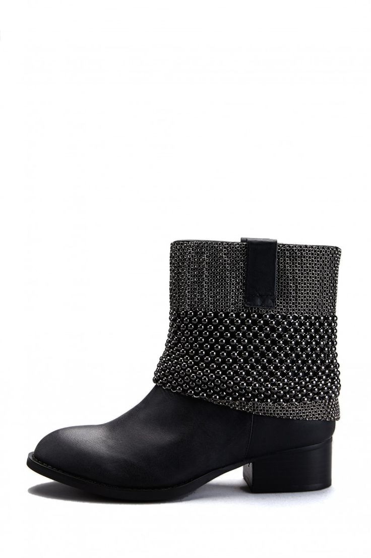 Jeffrey Campbell Shoes MAEL in Black Pewter