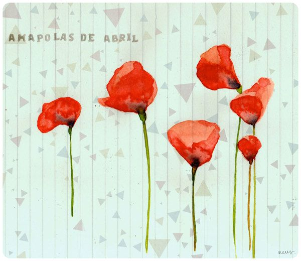 Neus illustration by Neus Lozano, via Behance