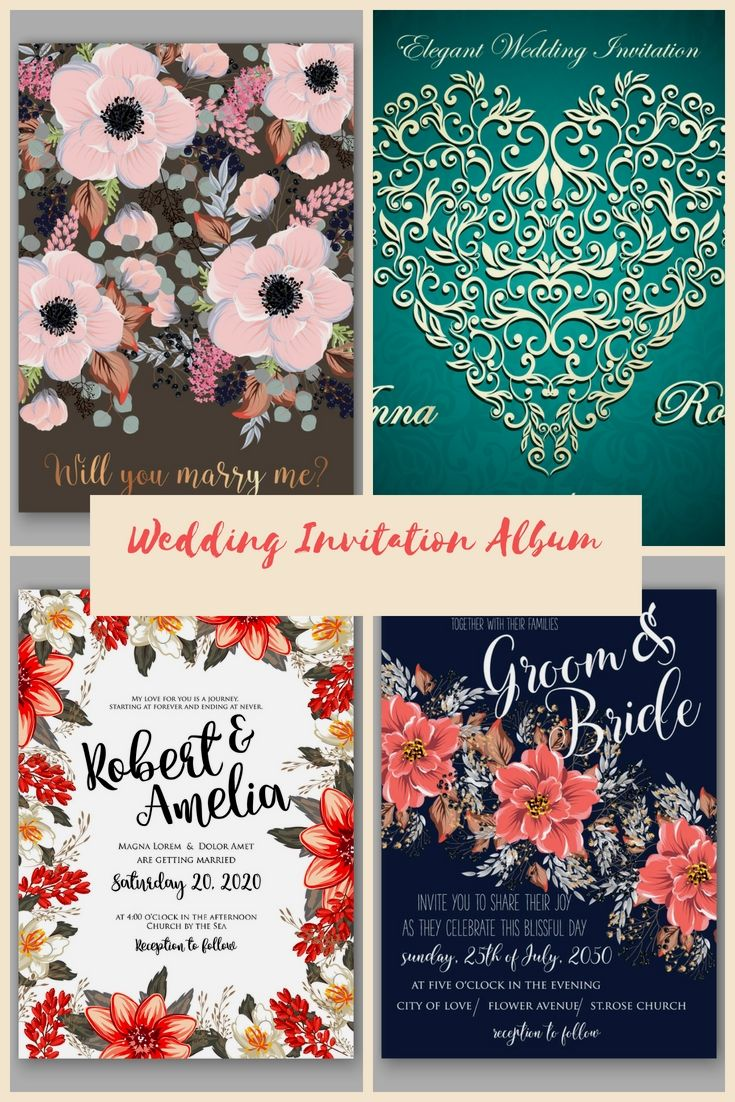 Superb Wedding Invitations Template Online For Your