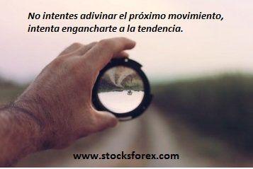 El #trading no consiste en adivinar, sino en subirte a #movimientos que ya han empezado. Frases de trading #Stocksforex #quotes #education http://www.stocksforex.com