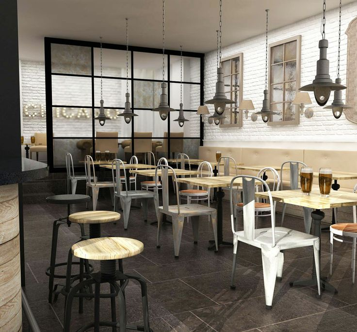 Proyecto de interiorismo bar vintage 150 m2 madrid - Interiorismo en madrid ...