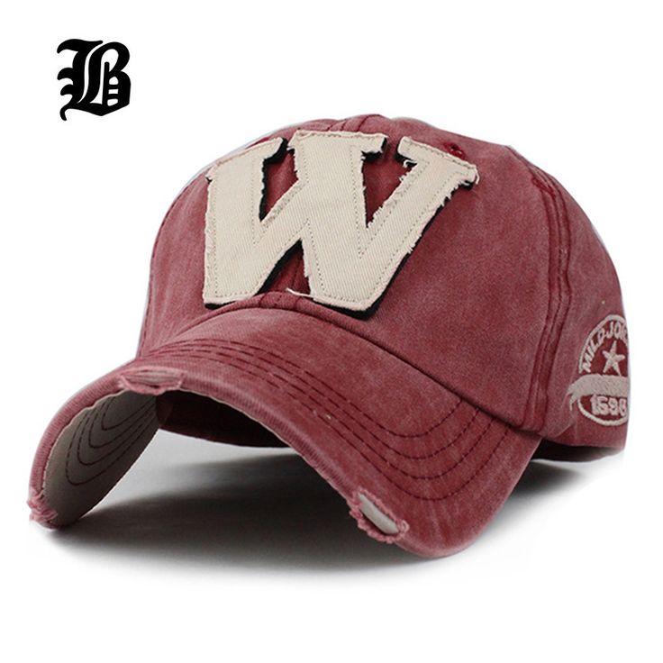 Algodón bordado de la letra w gorra de béisbol snapback caps hueso deportes sombrero sombrero para los hombres personalizados sombreros apenada estilo de uso al aire libre