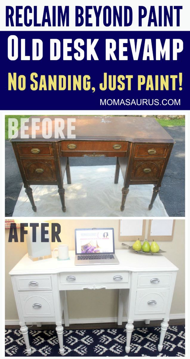 Reclaim Beyond Paint Countertop Makeover Kit : ... or sanding, just paint. Love it! #diy #office #reclaimpaint #homedepot