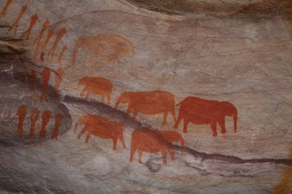 Cedarberg Mountains, Rocks and Bushmen Paintings