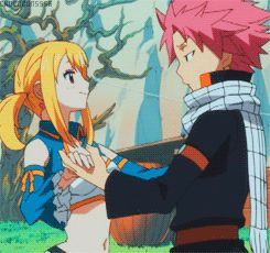 Cute NaLu moment ^w^