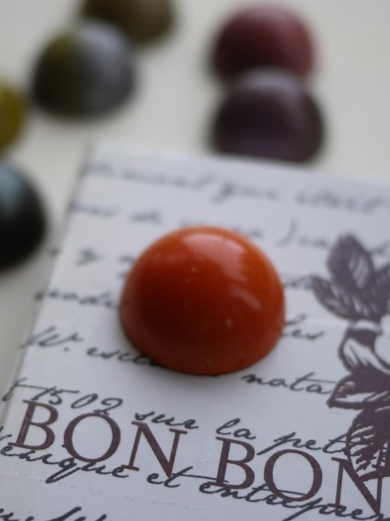 Succulent Chocolates- Fresh Orange Bon Bon