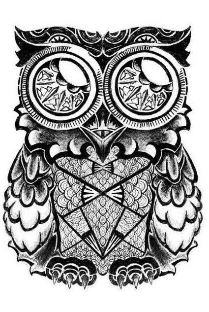 owl art art tattoos coloring pages owls colouring pages tattoo art printable coloring pages owl coloring books - Coloring Pages Owls