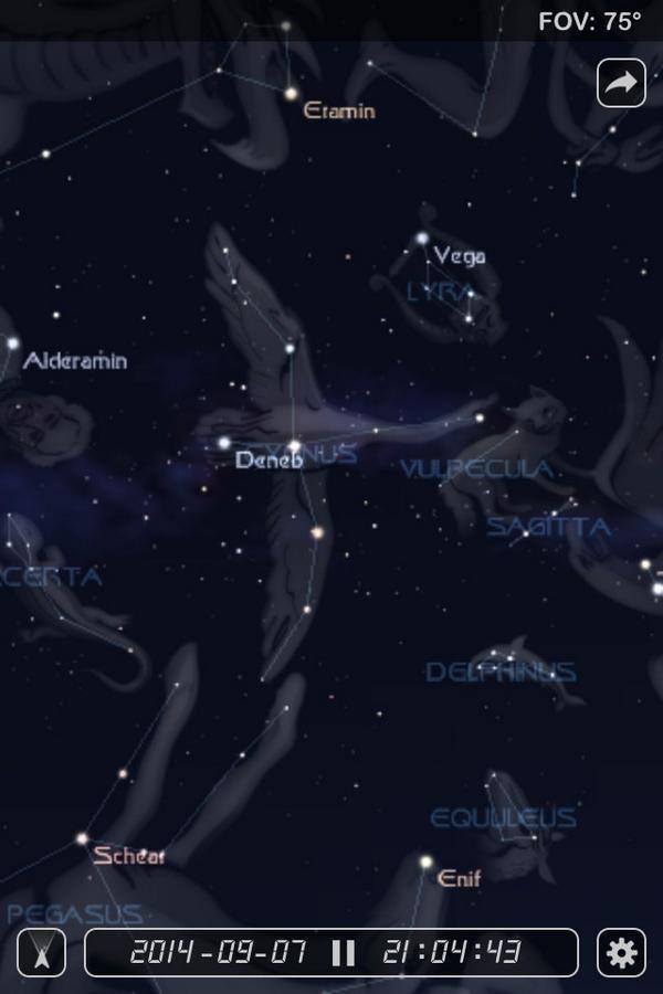 DENEB Alpha Cygni - Cygnus Constellation - Twitter @denebofficial