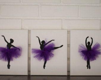 Baby Mädchen Kinderzimmer Dekor Ballerina Kinderg…