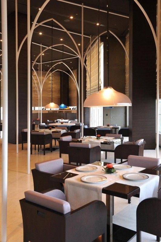 Armani hotel east side global pinterest dubai for Armani hotel dubai interior design