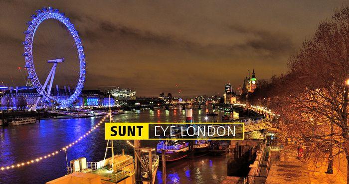 SUNT EYE LONDON