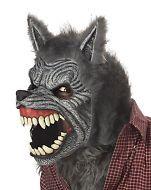 California Costumes Adult Scary Halloween Costume Werewolf Mask