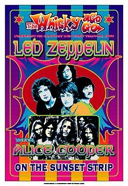 Classic Rock Posters | Dennis Loren Whisky A Go Go Commemorative series (page 1)