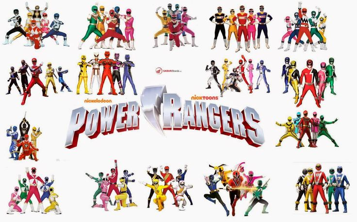 Series del recuerdo: Power Rangers
