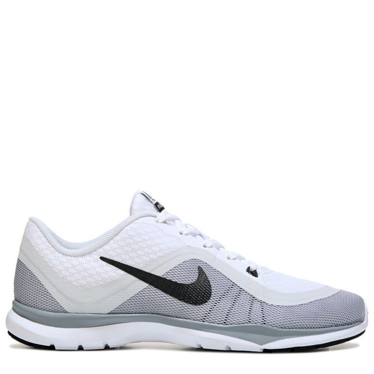 Nike Women's Flex Trainer 6 Training Shoes (White/Platium/Grey)