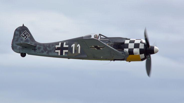 Erickson Collection's Focke-Wulf 190 A8 Replica   by NewsyL