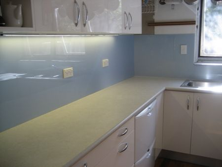 Cut to Size Pearlescent Splashback
