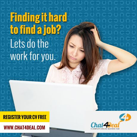 Finding it hard to find a job?Lets do the work for you Register now