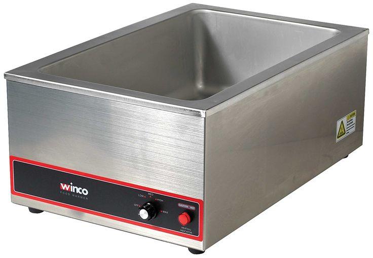 Amazon.com: Winco FW-S500 1200-watt Electric Food Wamer, Full: Kitchen Small Appliance Accessories: Kitchen & Dining