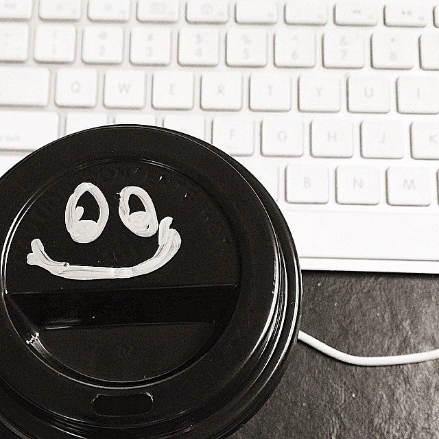 it's a thrilling Friday night with my keyboard... powered by caffeine!!