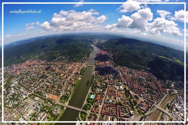 Heidelberg im Juni 2017 Neuenheim, Bergheim, die Altstadt mit dem Blick Richtung Ziegelhausen und das Neckartal. https://www.meinflugerlebnis.de