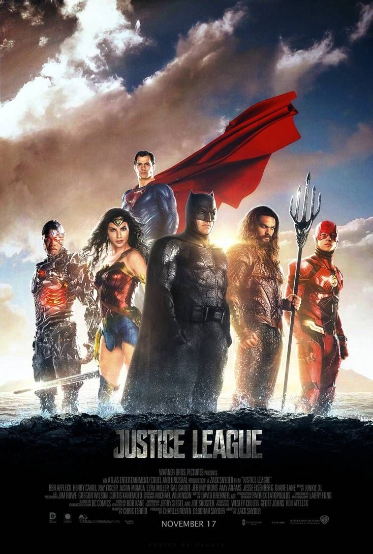 Justice League (2017) - Poster #2 by CAMW1N on DeviantArt | Justice league  2017, Justice league full movie, Justice league