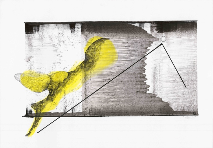 Open Art Warsaw Artist: Piotr Pasiewicz,  Monotyping+, 2013