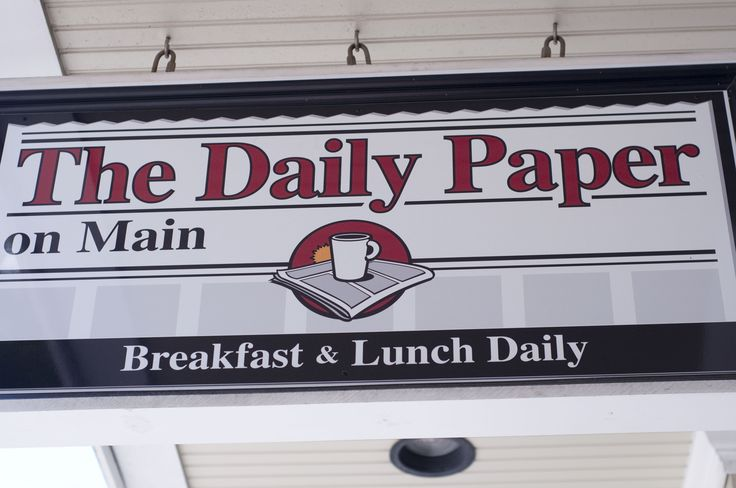 daily paper hyannis The daily paper on main is located at 546 main street in hyannis, ma call 508-775-9711 or click for details.