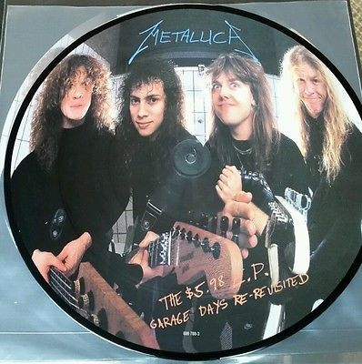 Metallica Garage Days Inc 180 Gram Picture Disc Vinyl Lp