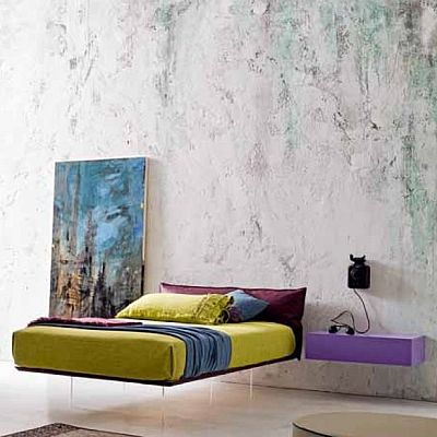 Contemporary Double 'Frog' Bed. My Italian Living. Beautiful bed, contemporary and ultramodern design.