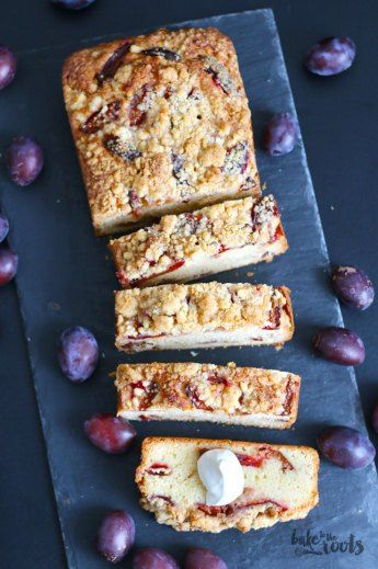 Six Spices Damson Plum Pound Cake | Bake to the roots