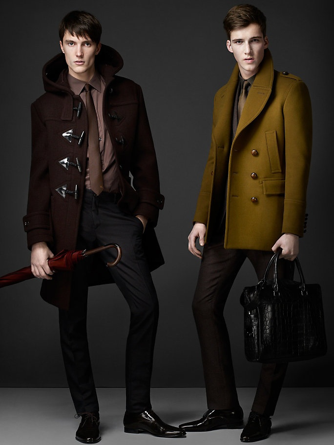 I like both jackets and styles. I like the style the chose especially the one on the left.