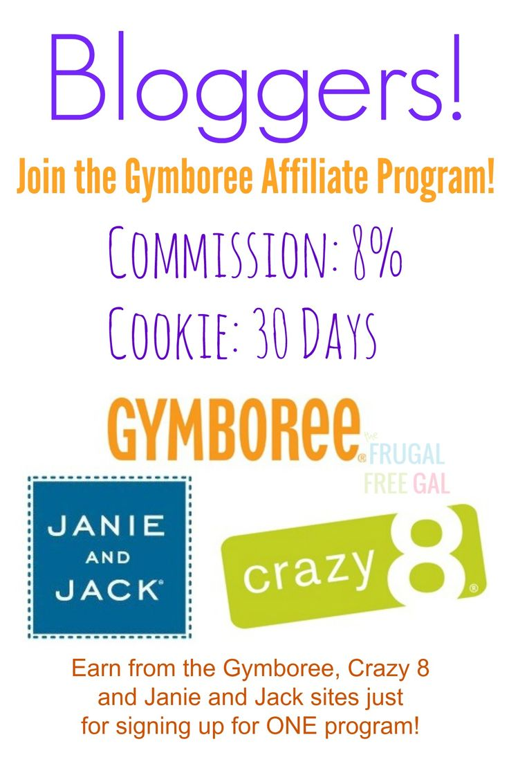 Join Gymboree's Affiliate Prog...