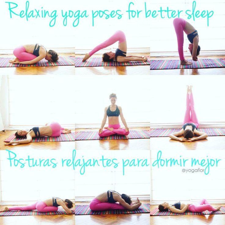 Вечерний йога-комплес для релаксации и хорошего сна