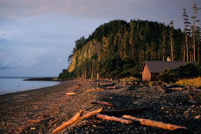 Dusk on Tow Hill, Naikoon Provincial Park, Haida Gwaii.