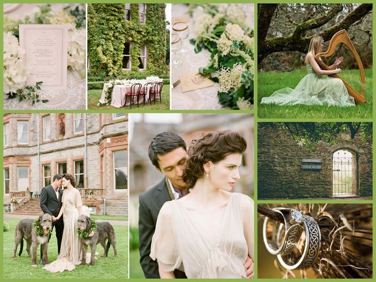 Best Scottish And Irish Wedding Gowns And Themes Images On