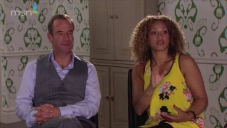 Robson Green and Angela Griffin interview Mount Pleasant