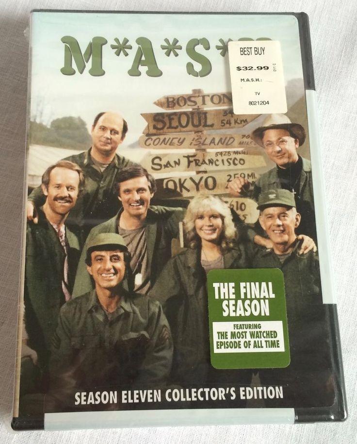 MASH - Season 11 (DVD, 2006, 3-Disc Set)