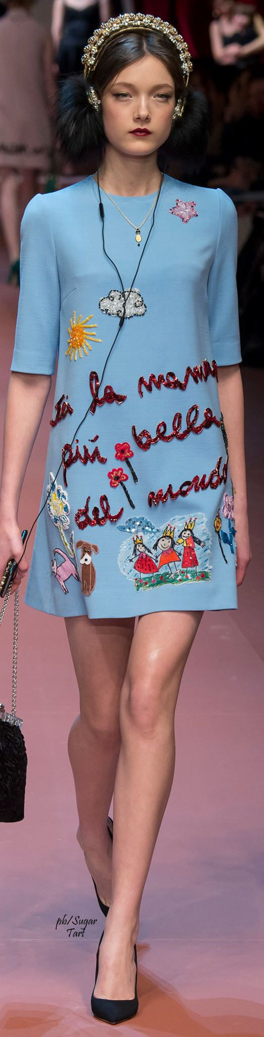Dolce & Gabbana Fall 2015 RTW- I need every one of these dresses