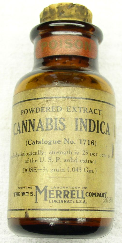Merrell Powdered Cannabis Indica Extract for Migraines