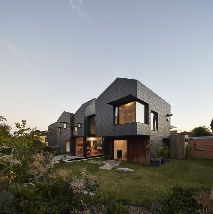 Charles House - Austin Maynard - Completed in 2015 in Kew, Australia. Images by Peter Bennetts. The clients wanted a house they could live in for at least 25 years. A home that would grow with the family, anticipating and accommodating different...