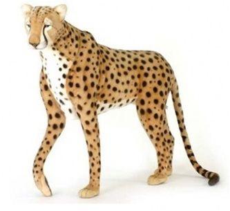 "cheetah stuffed animals | 50"" Plush Cheetah Stuffed Animal by Hansa"