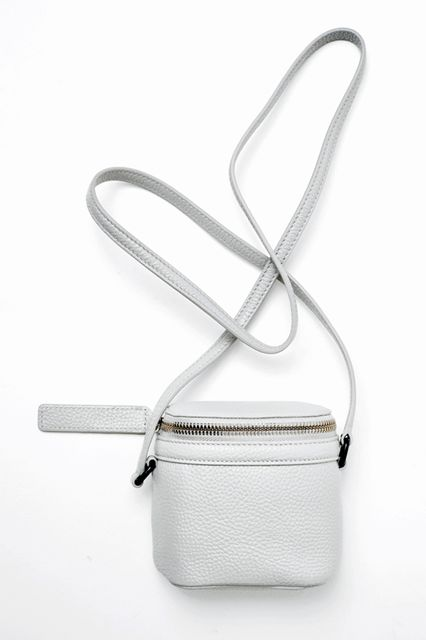 29 Crossbody Bags For Festival Season & Beyond #refinery29  http://www.refinery29.com/cute-crossbody-bags#slide-8  This petite bag holds only the essentials — so choose wisely.